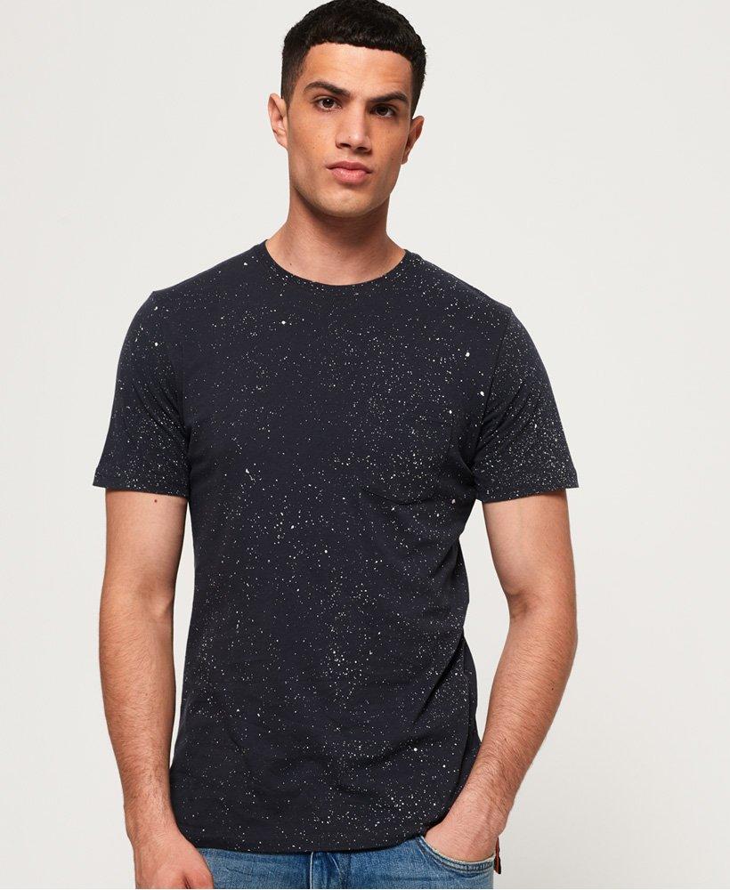 Superdry Hoxton Wash Longline T-Shirt thumbnail 1