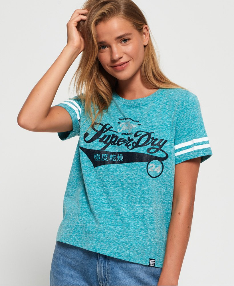 Superdry T-shirt ample Sport Club thumbnail 1