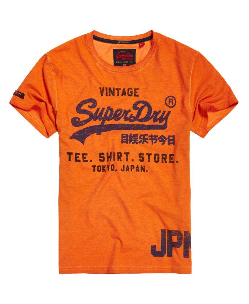 Superdry Shirt Shop Duo Overdye Lite T-Shirt
