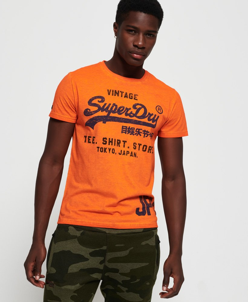 Superdry Shirt Shop Duo Overdye Lite T-Shirt thumbnail 1