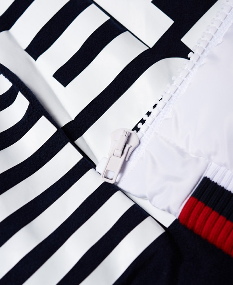 Sportsweart Snorkel Gilet Doudoune Sm Femme SUPERDRY BLANC