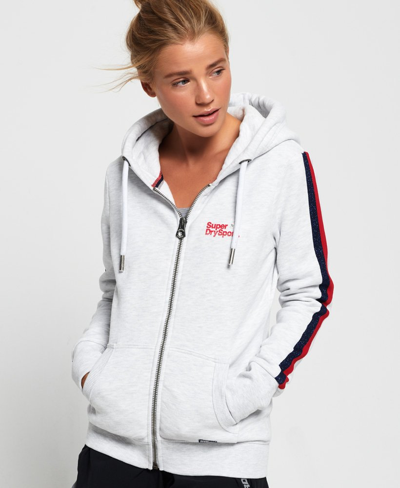 Superdry Diamond Label Zip Hoodie