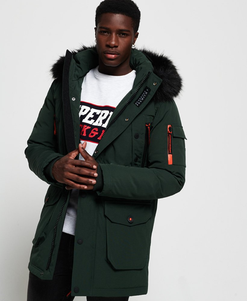 Superdry Premium Ultimate Down Parka Jacket Men's Jackets