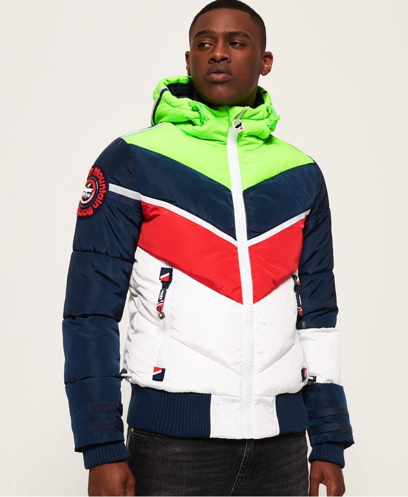 Superdry Mountain Range Puffer Jacket  thumbnail 1