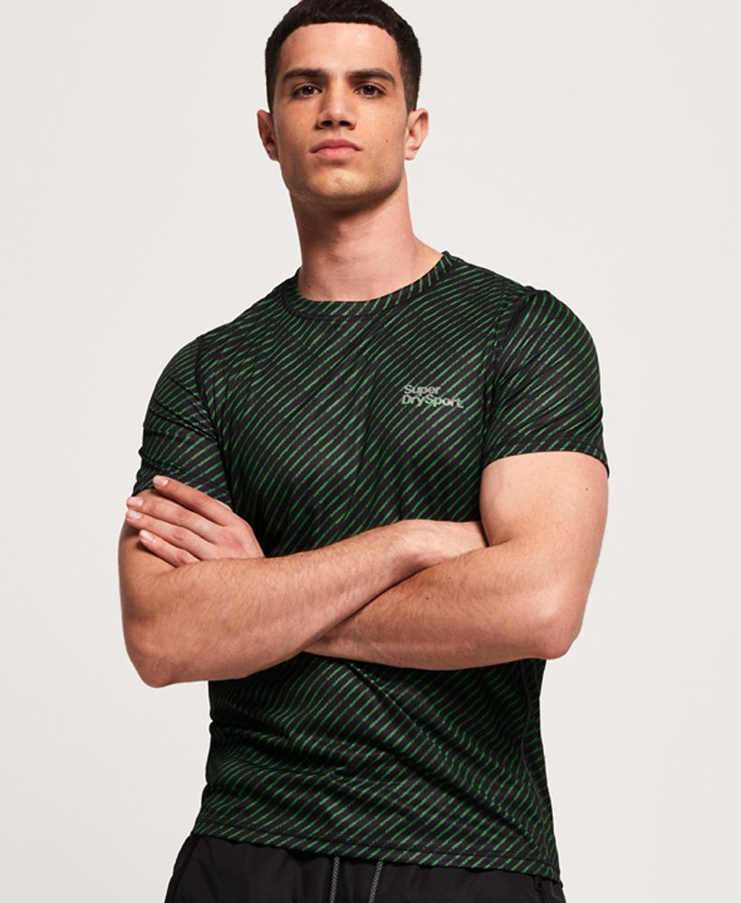 Superdry Active All Over Print T-Shirt thumbnail 1