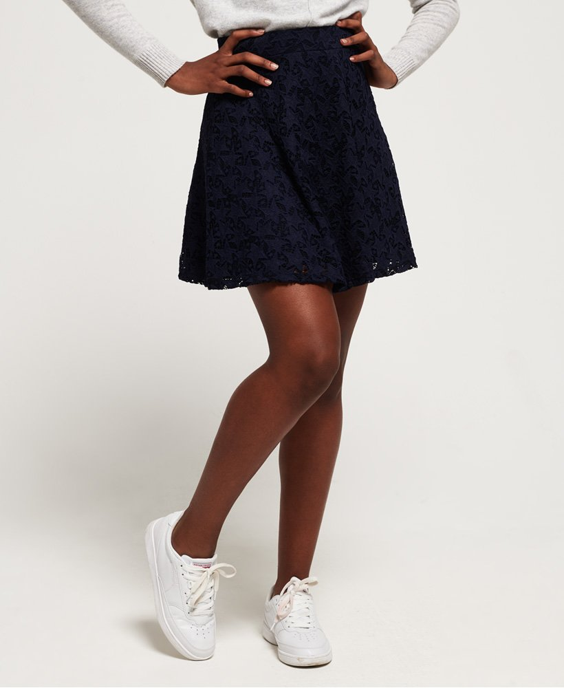 Superdry Imogen Star Lace Skater Skirt