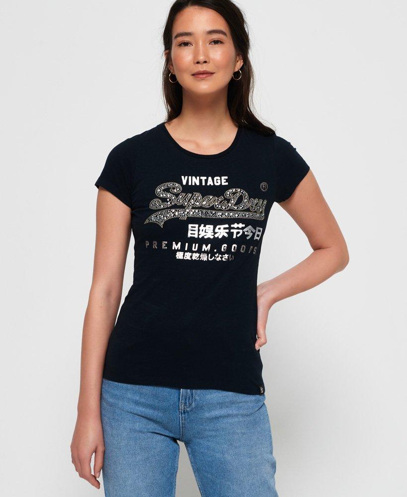 Superdry T-shirt à clous en forme d'étoile Premium Goods  thumbnail 1