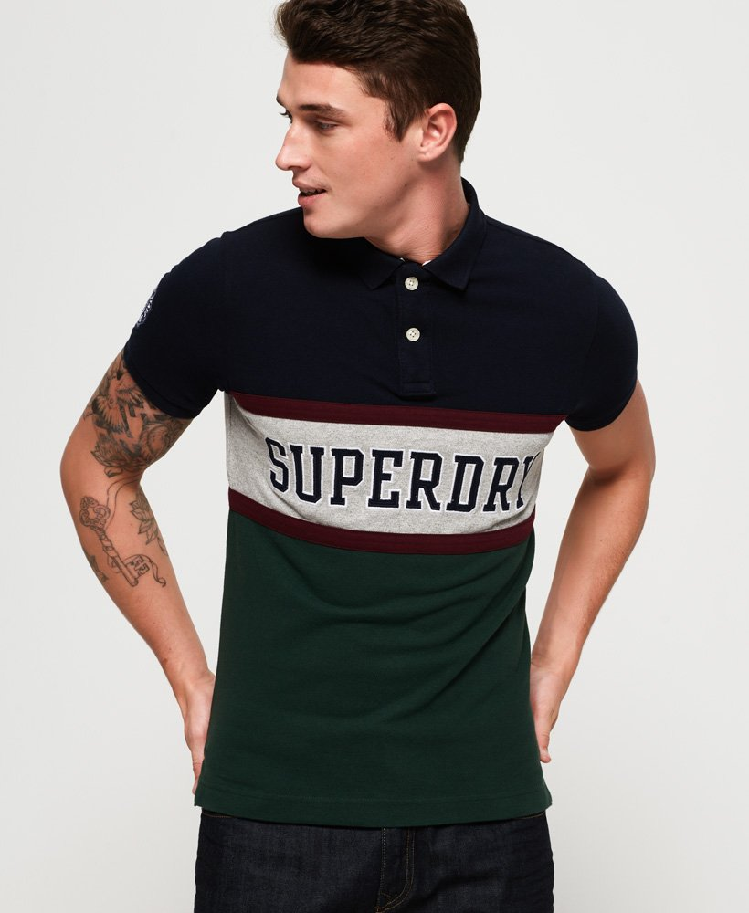 Superdry Classic International Applique Polo Shirt  thumbnail 1