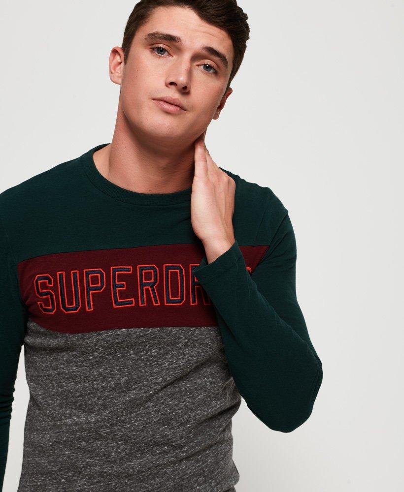 Superdry Applique Couleur bloc T-shirt à manches longues