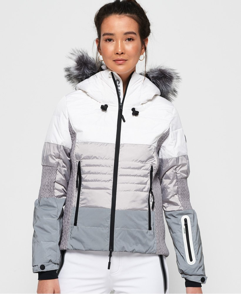 Superdry Snow Cat Ski-Daunenjacke