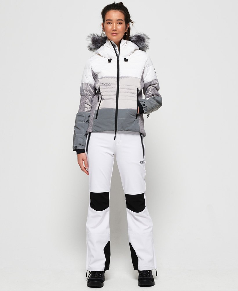 Superdry Pantalon de ski Sleek Piste