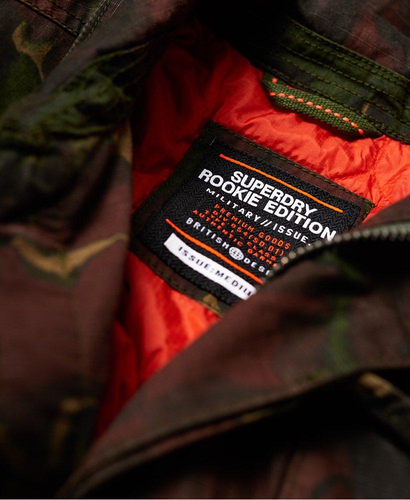 Superdry Rookie Deck Patched jakke Herre Jakker