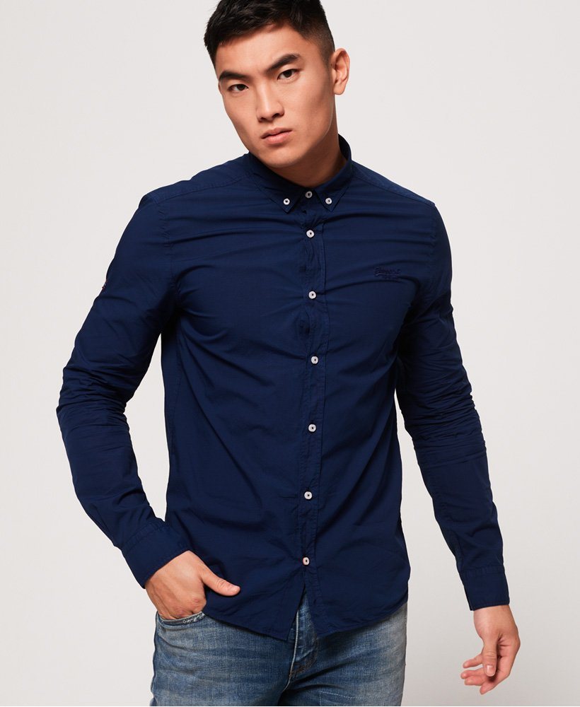 Superdry Premium Paperweight Button Down Shirt