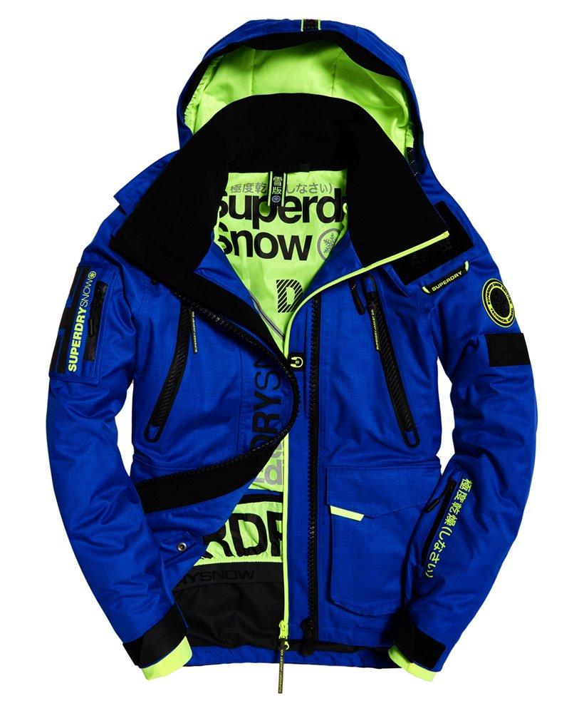 Mens Ultimate Snow Rescue Jacket In Cobalt Superdry