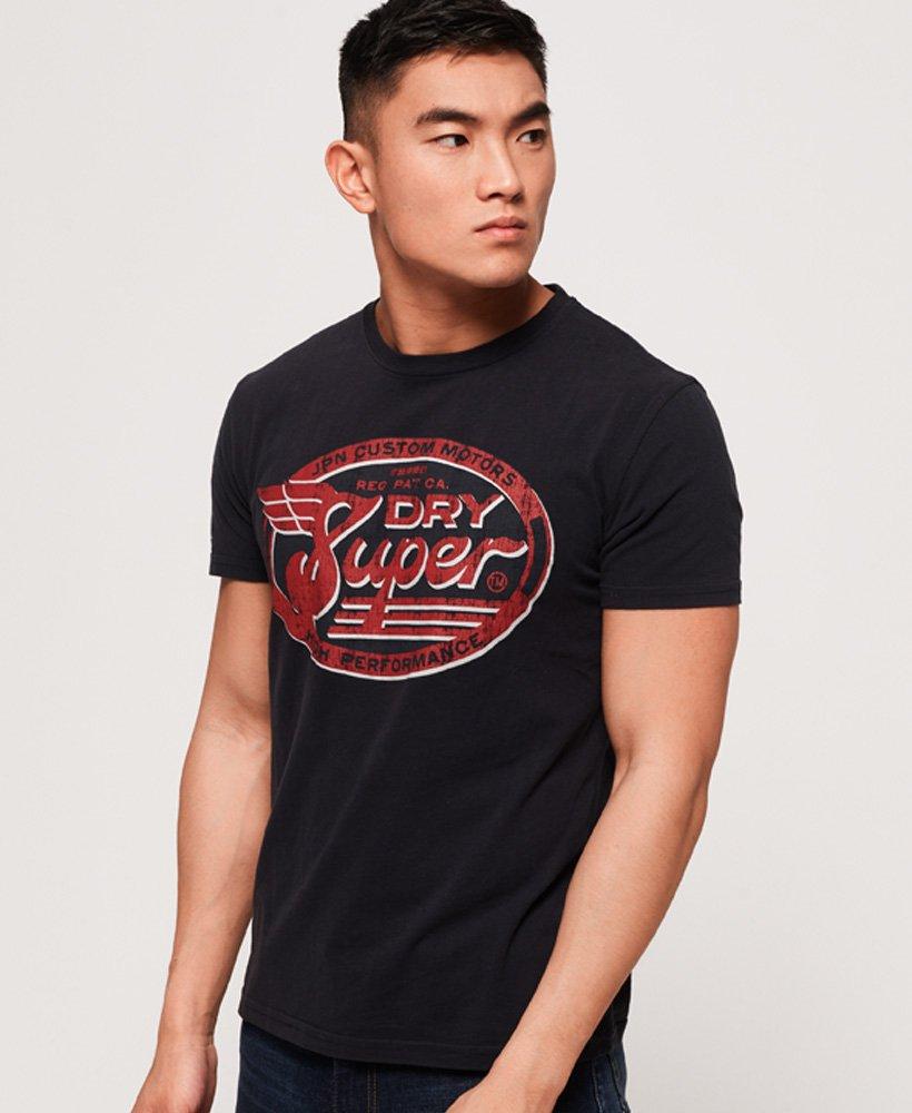 Superdry Custom Tin Tab Lite T-Shirt thumbnail 1