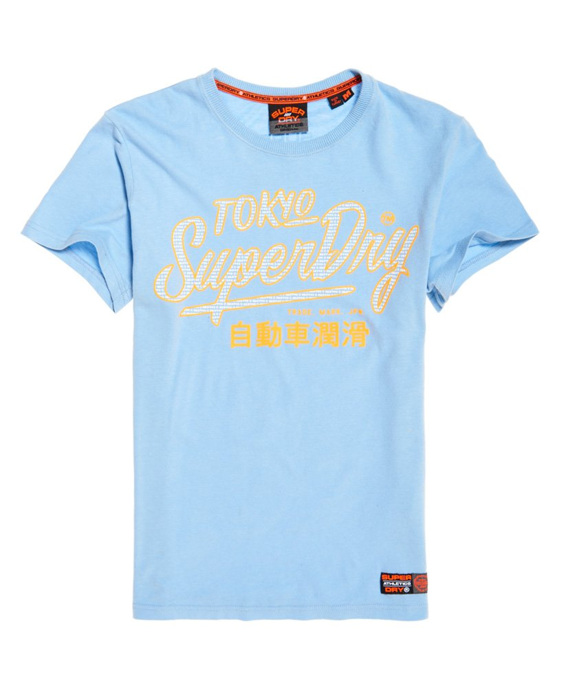 Superdry T-shirt Ticket Type Pastel