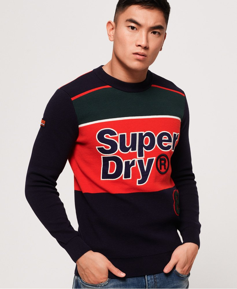 Superdry Mega Logo Crew Neck Jumper thumbnail 1
