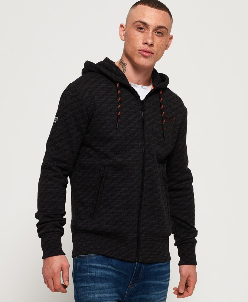 Superdry Orange Label Urban Panel Zip Hoodie thumbnail 1