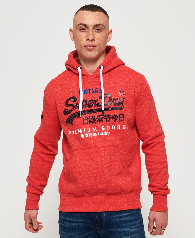 Superdry Premium Goods Tri Infill Hoodie  thumbnail 1