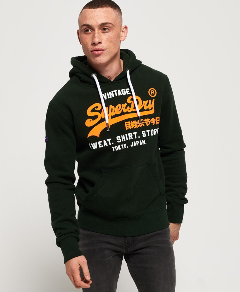 Superdry Sweat Shirt Shop Hoodie mit zweifarbigem Logo thumbnail 1