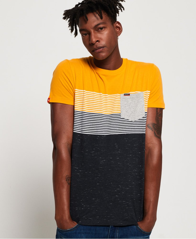 Superdry Miami Stripe Pocket T-Shirt thumbnail 1