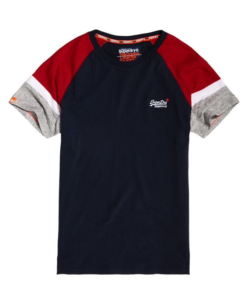 Superdry Engineered Baseball Short Sleeve T-Shirt