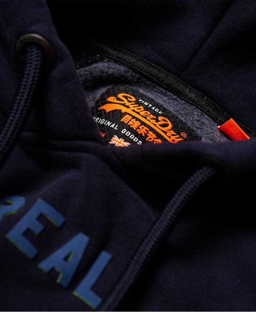 Superdry Sweat à capuche avec manches raglan et logo