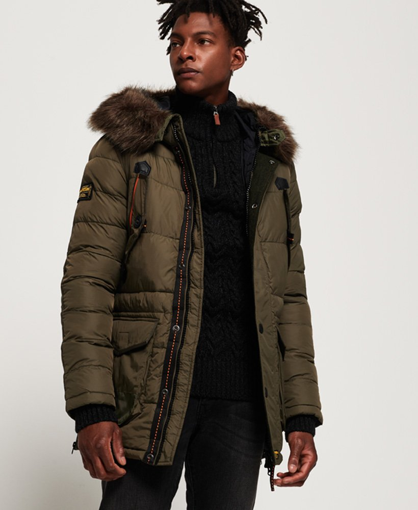 Superdry Chinook Parka Jacket thumbnail 1