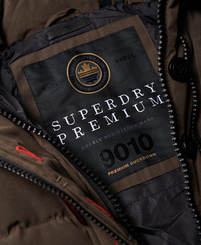 Superdry Klassischer Premium Rescue Daunenparka Damen