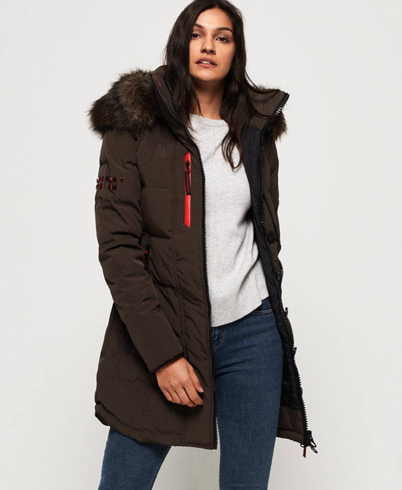 Superdry Premium Down Classic Rescue Parka Jacket thumbnail 1