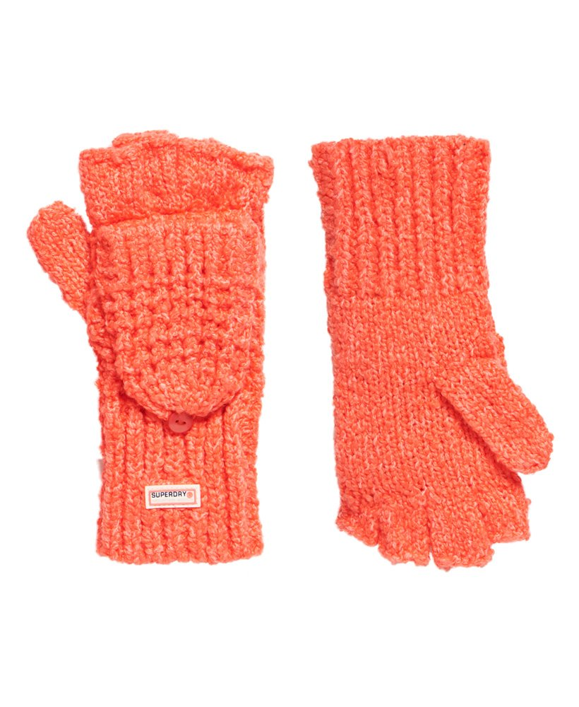 Superdry Clarrie Stitch Mittens thumbnail 1