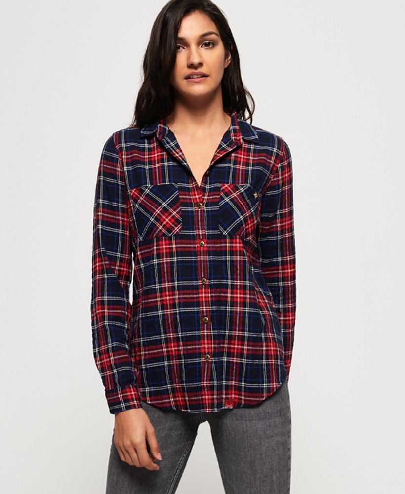 Superdry Lightweight Seersucker Shirt thumbnail 1