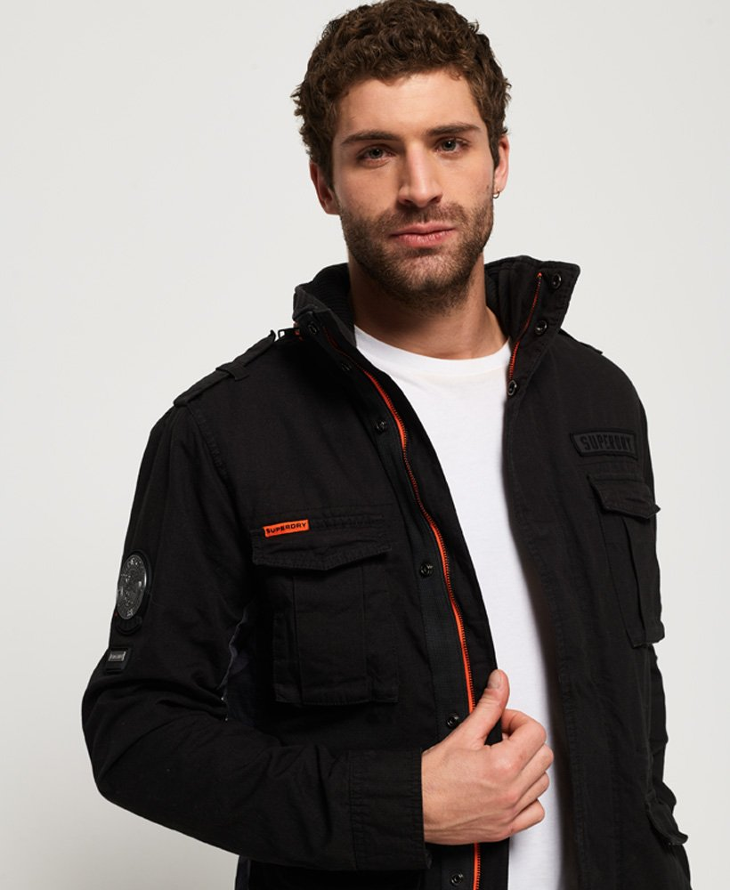 Superdry Black Label Rookie Classic jakke Herre Jakker