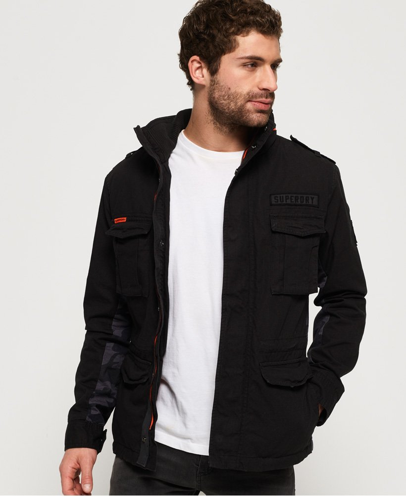 Superdry Black Label Rookie Classic Jacket thumbnail 1