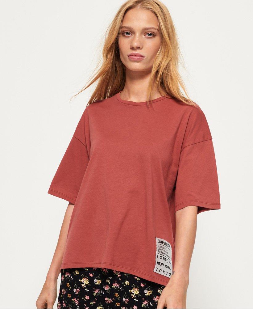 Superdry Utah T-shirt i overstørrelse