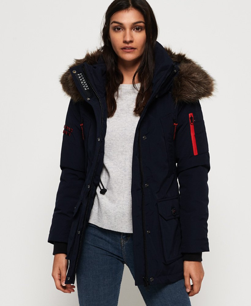 Superdry Premium Down Alps Coat thumbnail 1