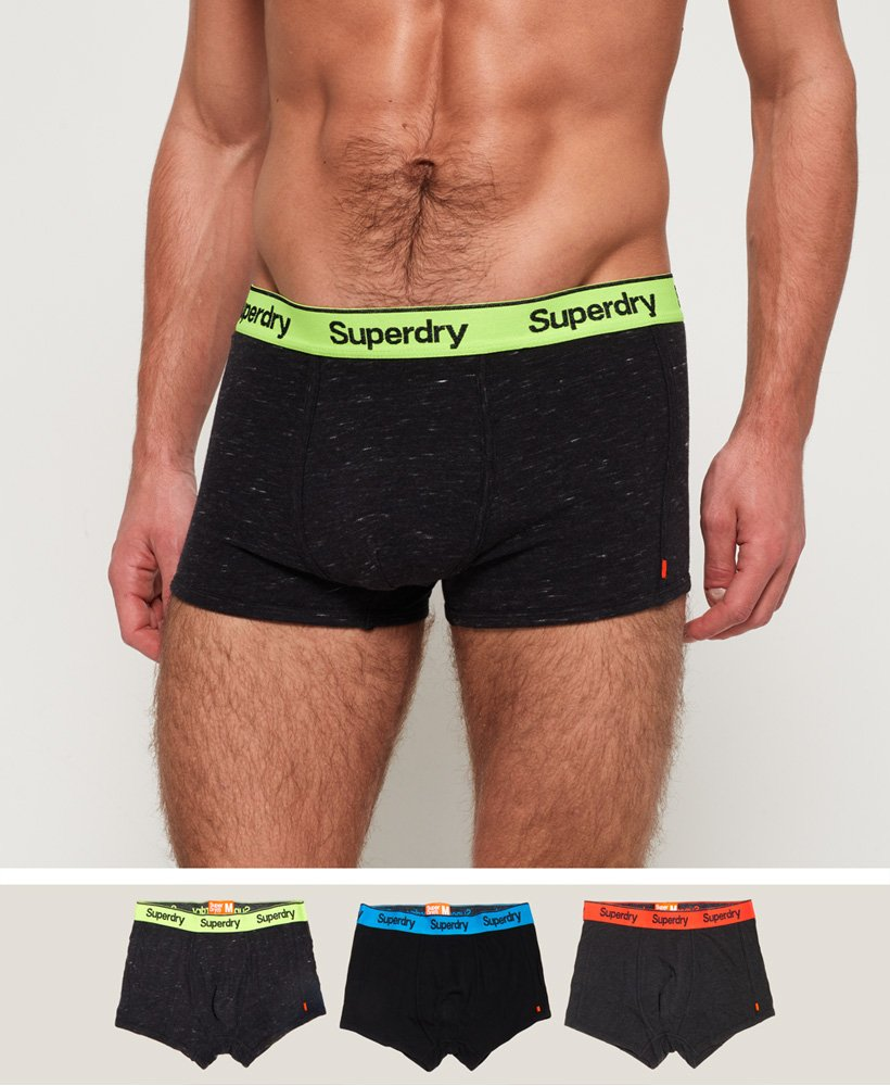 Superdry Pack de 3 bóxers Orange Label Sport