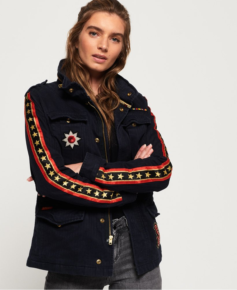 Superdry Rock Royalty Rookie Jacke  thumbnail 1