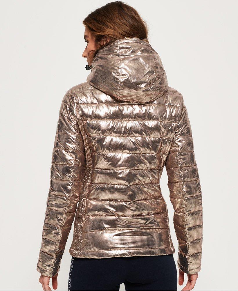 superdry jacke damen metallic