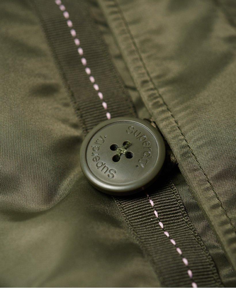 Womens - SDL-2 Parka Jacket in Khaki/soft Pink | Superdry