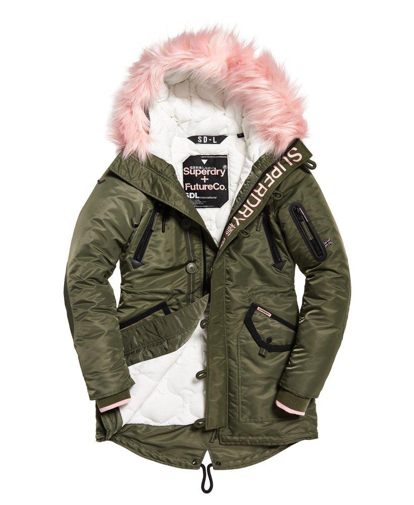 Superdry SDL-2 Parka Jacket for Womens