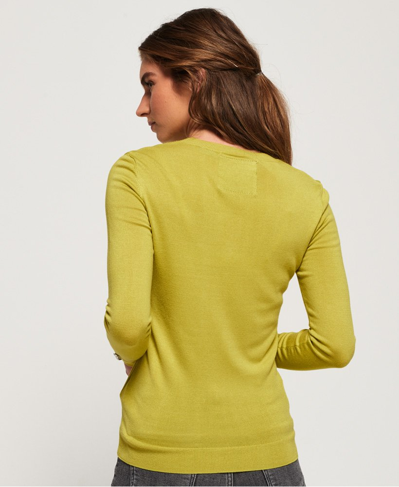 sweat superdry chartreuse