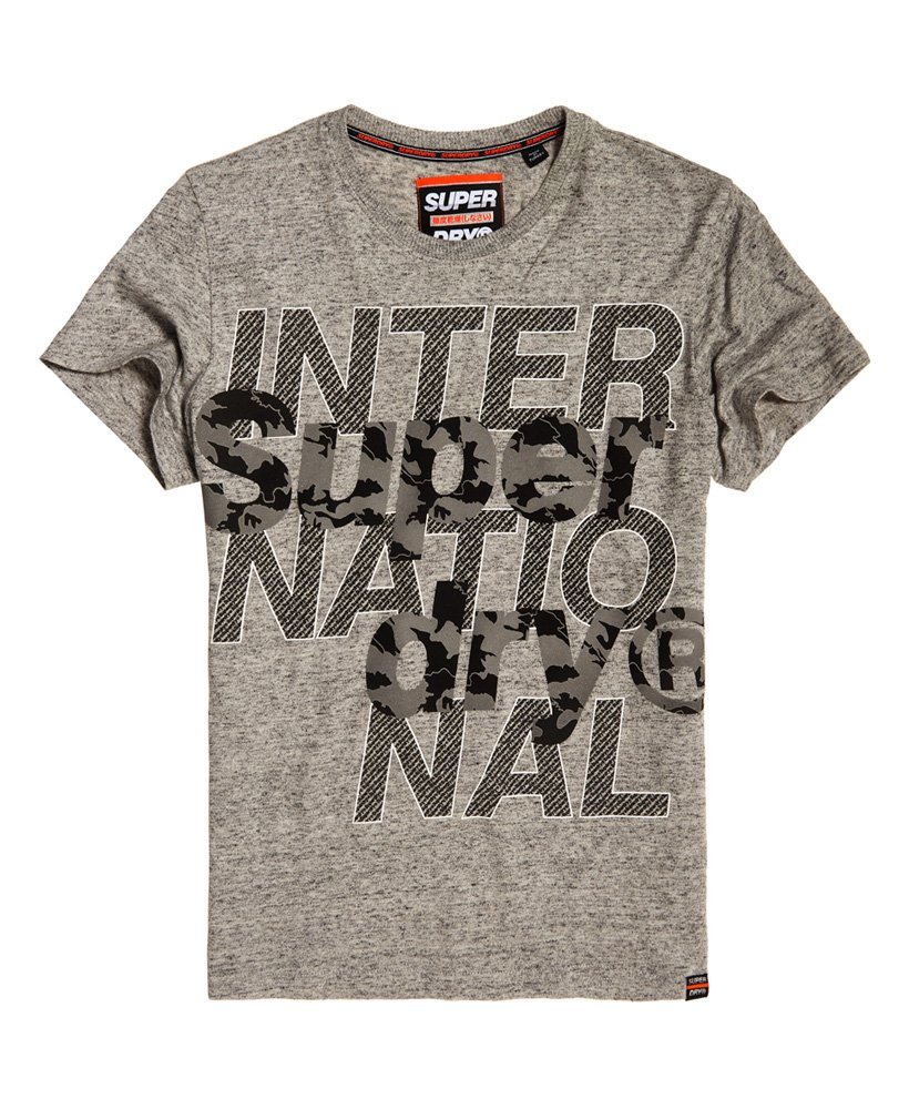 Superdry T-shirt International Monochrome