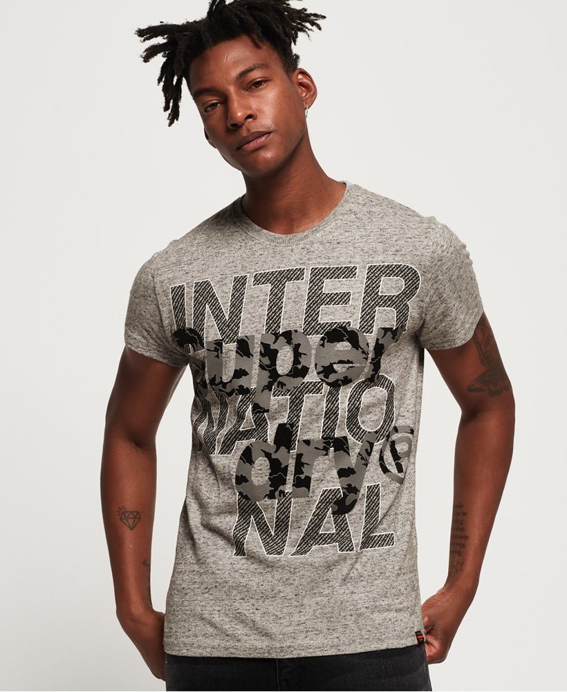Superdry International Monochrome T-skjorte thumbnail 1