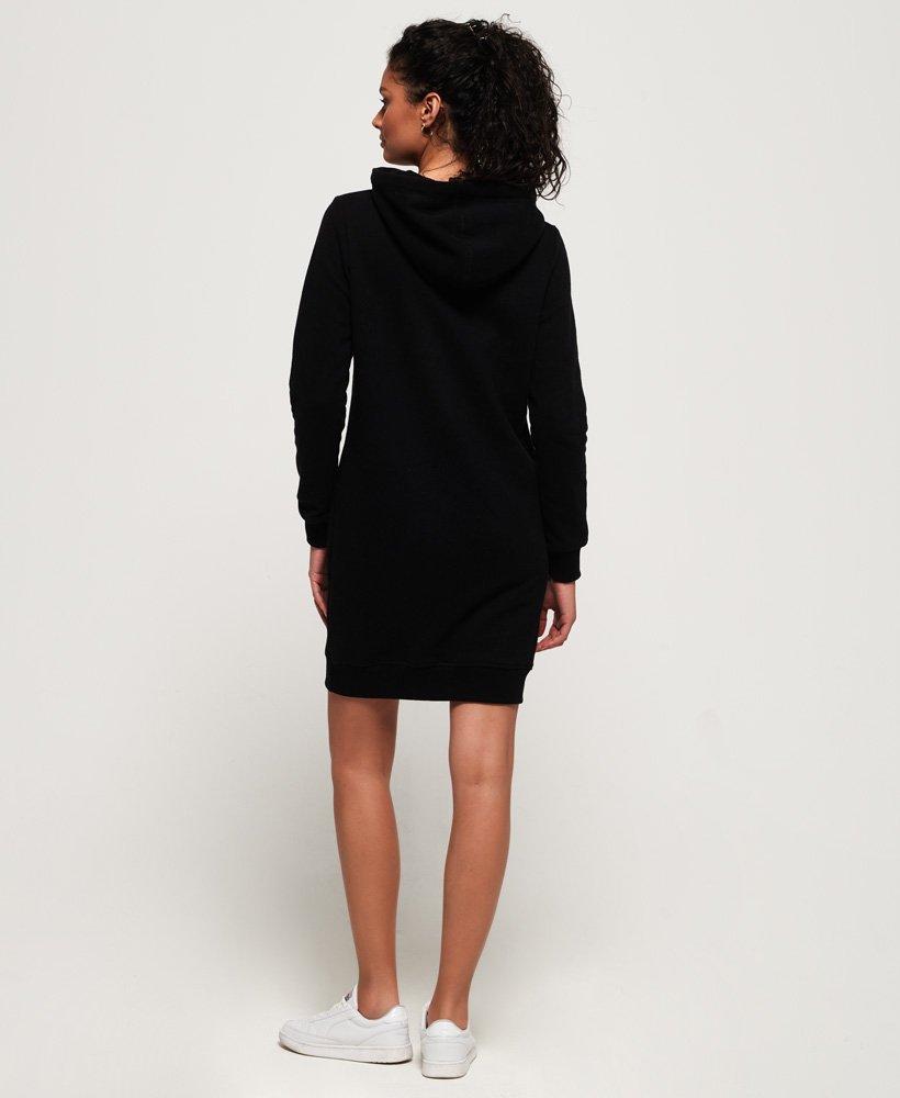 Julkaisupäivä: uusi tyyli puoleen hintaan Womens - Deakin Embellished Sweat Dress in Black | Superdry