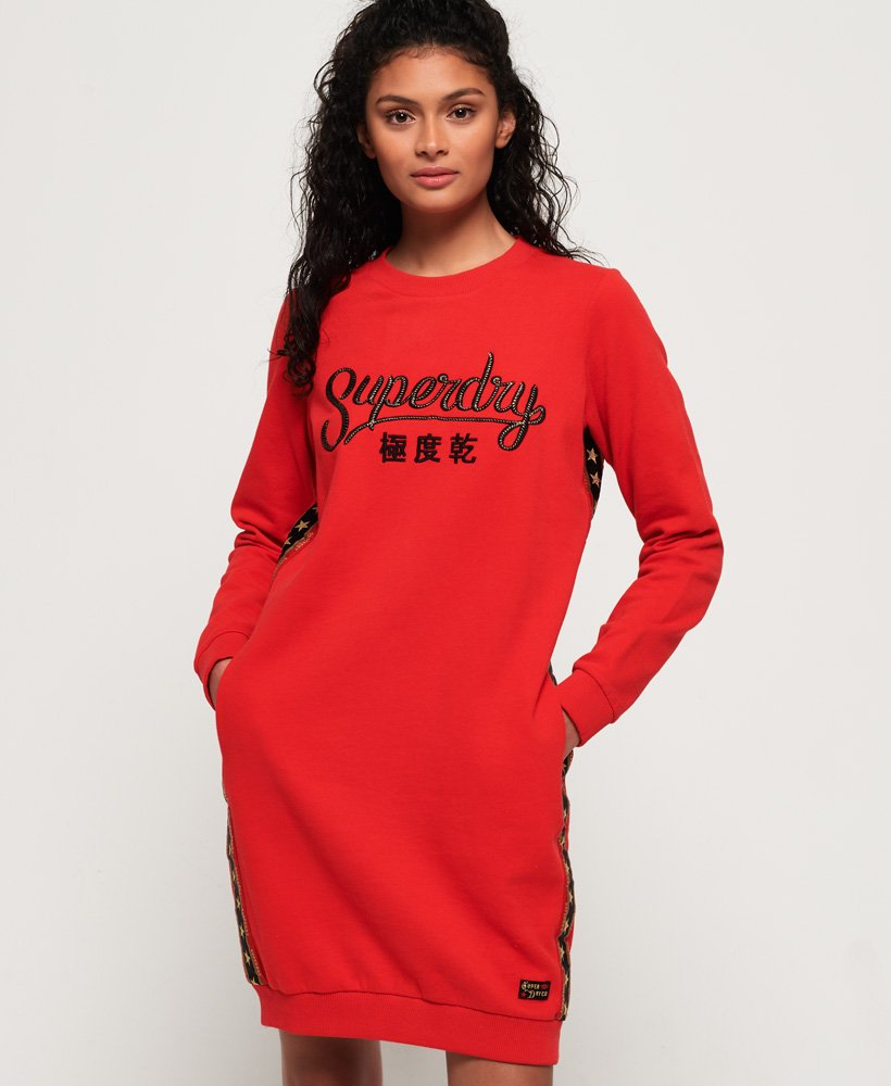 Superdry Star sweatkjole