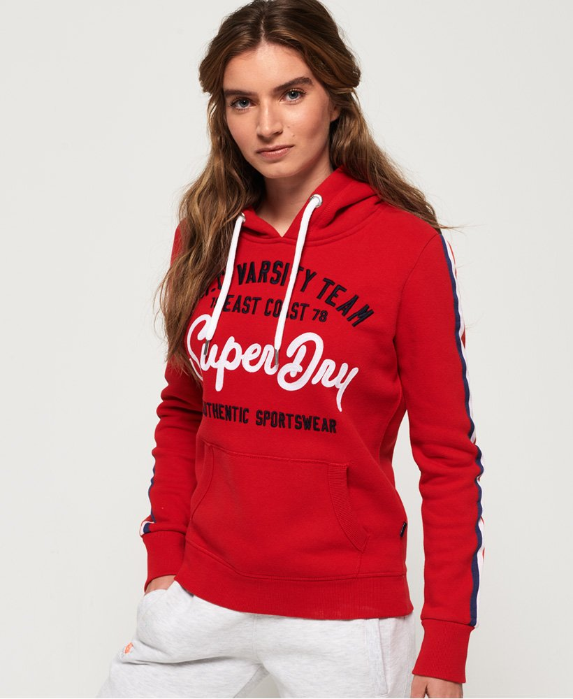 Superdry NYC Varsity Embroidery Hoodie thumbnail 1