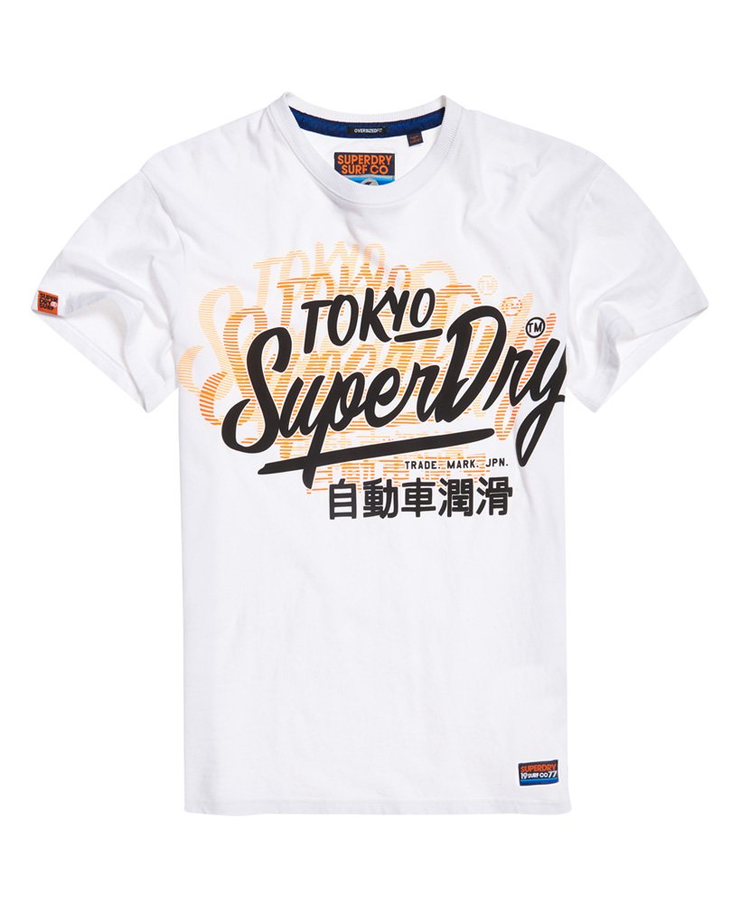 Superdry Ticket Type Oversized Fit -t-paita