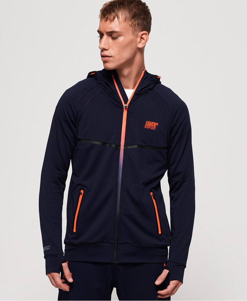 Superdry Training Zip Hoodie thumbnail 1