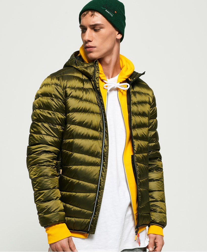 Superdry Clarendon Down Hooded Jacket thumbnail 1